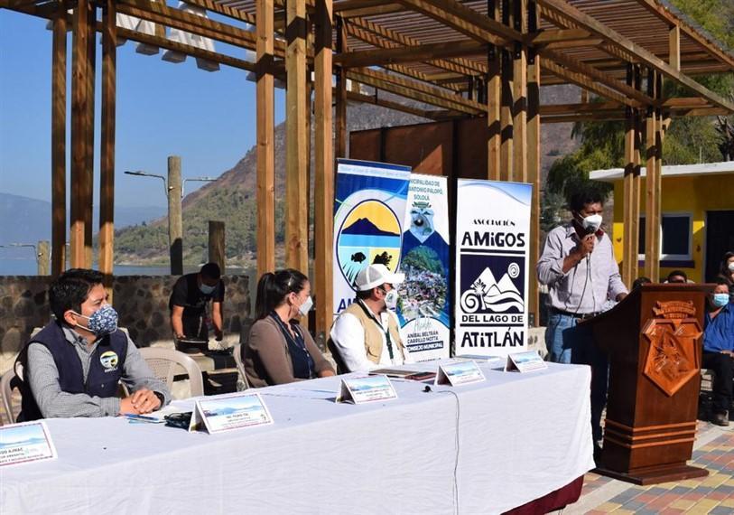 """""""Un logro ejemplar y de impacto positivo para el lago de Atitlán""""."""