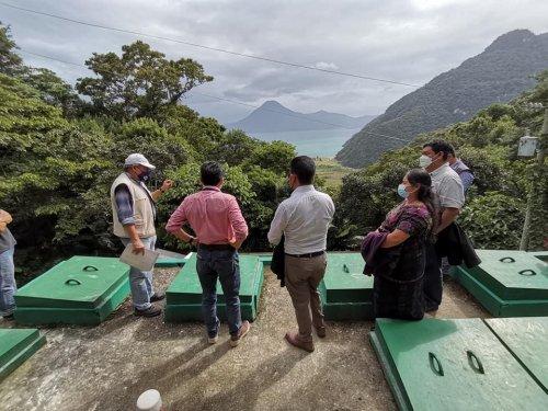 Inauguran proyecto de mejoramiento del sistema de tratamiento de aguas residuales de la Aldea San Jorge la Laguna
